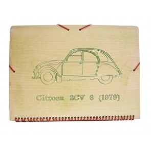 Carpeta Citröen 2cv
