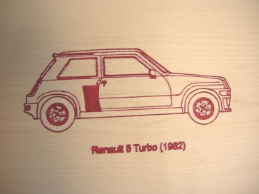 Carpeta Renault 5 Turbo
